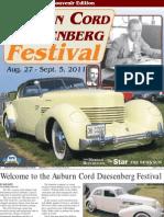 Auburn Cord Duesenberg Festival 2011