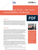 Food(Plus)Tech - The next sustainability challenge