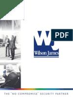 Wilson James Security Management E-Brochure Lo-res