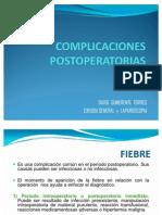 15 CLASE COMPLICACIONES  POSTOPERATORIAS