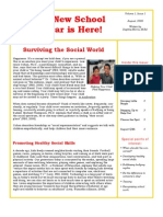 Trevor Romain Parents Newsletter - August 2008