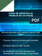 Como Se Organiza El Trabajo en Un Hotel Presentacion 2