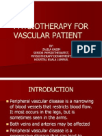 Physiotherapy for Vascular Patient