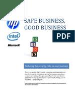 HP Security Checklist