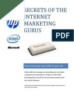 Secrets of the Internet Marketing Gurus