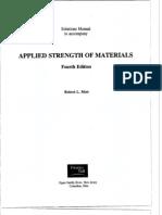 Mott 4e applied strength of materials solutions Chapter 1