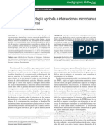 Microbiologia Agricola e Interacciones as Con Plantas