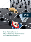 OSCE Physical Security of Stockpiles of Conventional Ammo