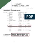 Blut- Und Nierenwerte Dr. Puck - 25. August 2011