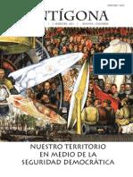 Revista Antígona No.7 Nuestro Territorio en Medio de la Seguridad Democratíca
