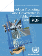 United Nations Economic Commission for Europe - Guidebook on Promoting Good Governance in Public-private Partnerships
