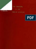 S. P. C. K. Ed. An English translation of the Teaching of the Twelve Apostles. 1922.