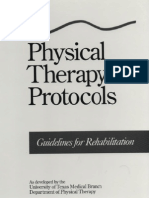 Physical Therapy Protocols