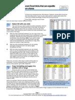 10 Excel Tricks