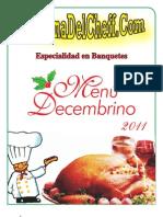 Menu Decembrino La Cocina Del Cheff 110831