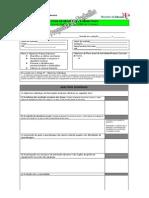 Ficha Para Definição de Objectivos Individuais