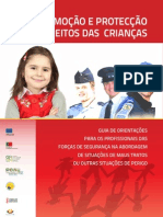 Guia de orientações para os profissionais das forças de segurança na abordagem de situações de mt