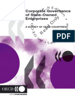 Corporate Governance of State Owned Enterprises - An Survey in OECD Countries