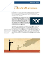 How Business Interacts With Government - Encuesta McKinsey
