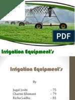 Irrigation Equipments
