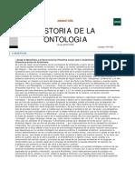 Historia Ontologia Del Lenguaje