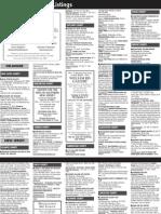 Sept 2011 Listings