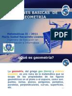 Nociones Basicas de Geometria
