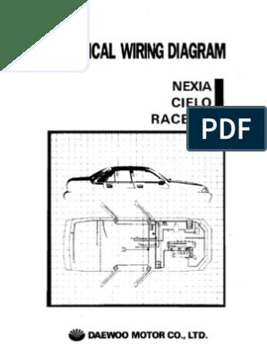 [TBQL_4184]  Daewoo Nexia Cielo Racer Electrical Wiring Diagram | Wiring Diagram For Daewoo Cielo |  | Scribd