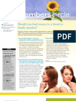 Members Circle, August 2011 Newsletter