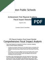 School Committe Mayoral Academy Presentation 8-29-2011 Rev 1