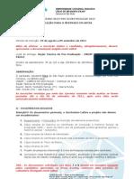 UNESP Edital Mestrado Artes 2012