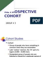 Cohort Retrospective
