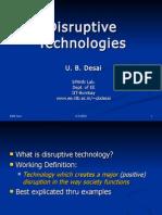 Disruptive Tech and Bottom of Pyramid