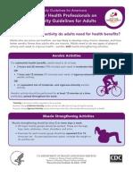orientações atividade fisica adulto