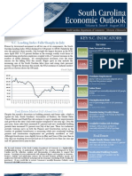 Economic Outlook - South Carolina v 4 Issue 8 August 2011