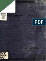 Hobson. Notes on the Athanasian Creed. 1894.