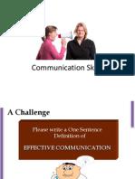 Communication Skills Session