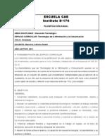 Planificacion Tic 2011