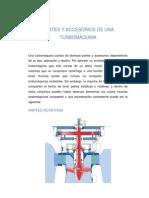PARTES Y ACCESORIOS DE UNA TURBOMÁQUINA