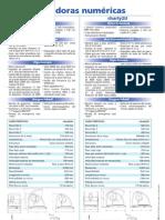Especificaciones técnicas de las fresadoras de pequeño formato Charlyrobot serie Charly 2U y 4U