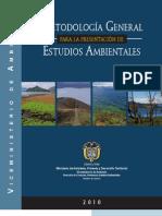 Metodologia General Para La Presentacion de Estudios Ambient Ales