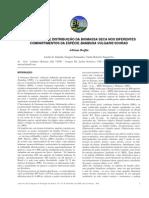 QUANTIFICAÇÃO E DISTRIBUIÇÃO DA BIOMASSA SECA NOS DIFERENTES