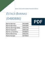 Codigo de Barrios