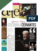 Ignacio López Tarso celebra a Cervantes