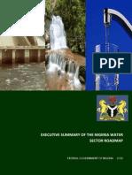 Roadmap for Nigerian Water Sector_final 1_160111