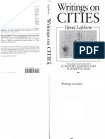 Henri Lefebvre - Writings on Cities