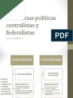 Historia de México 2 Tendencias políticas centralistas y federalistas