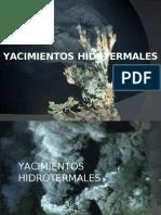 Yacimientos Hidrotermales
