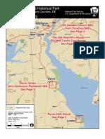 Delaware National Park Map
