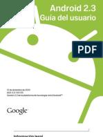 Androi 2.3 (Guia Del Usuario)-Es